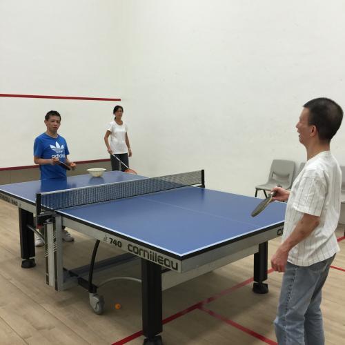乒乓球訓練